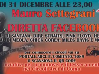 31 dicembre/ Capodanno rock con Mauro Settegrani