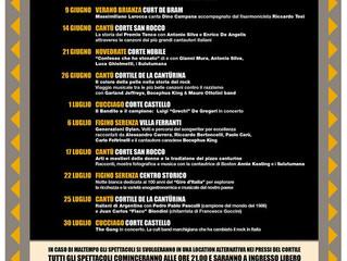 26 giugno e 25 luglio  /Arci Virginio Bianchi/ Storie di Cortile