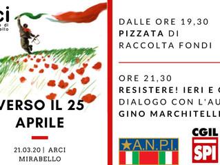 21 marzo/ Arci Mirabello/ Verso il 25 aprile