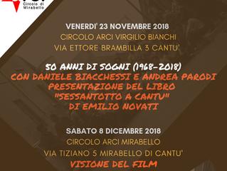 23 novembre e 8 dicembre /Arci Virginio Bianchi e Arci Mirabello/ 50 dopo... il '68
