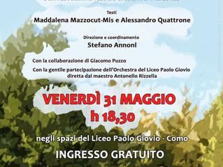 31 maggio/ Arci Trebisonda in collaborazione con Liceo P. Giovio/ Quando parlo, mi odi (?)
