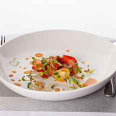Strawberry, Tomato Salad
