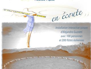 """Demain matin, au vide greniers de Céüze,  Alejandro Guzzetti vous parlera de son projet """"en éco"""