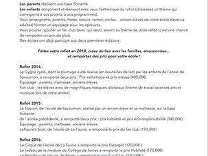 RafiotCyclé, la régate de bateaux en matériaux de récuperation à la Germanette, Serres (05) - les 15