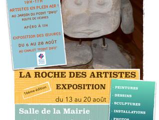 deux expositions à La Roche des Arnauds!