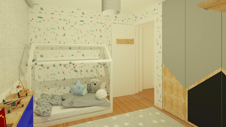 arquitetura interiores: QUARTO INFANTIL