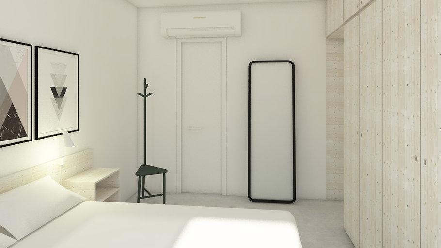 arquitetura de interiores: APARTAMENTO MOSTARDEIRO