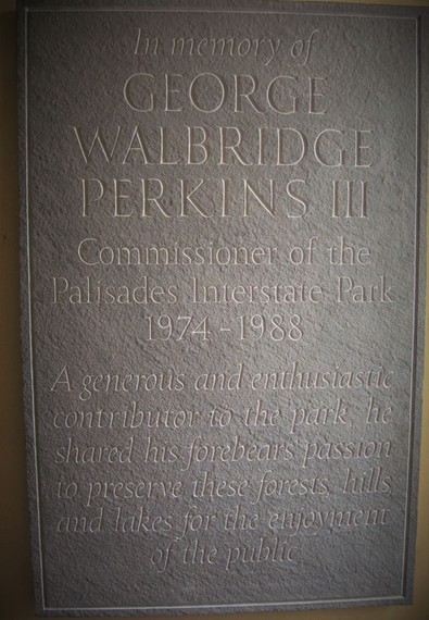 George Walbridge Perkins III commemorative plaque