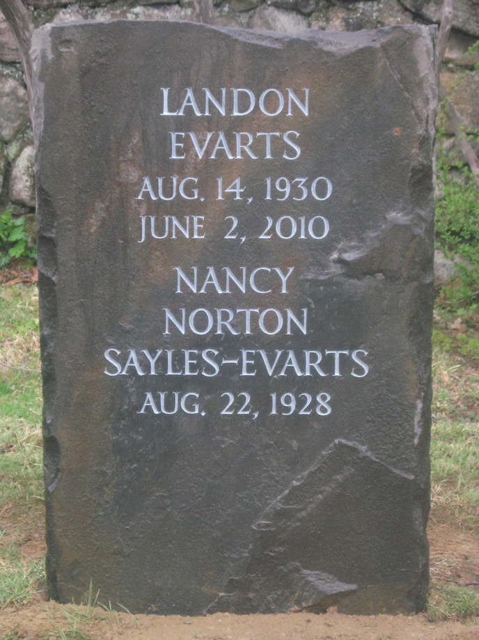 Landon and Nancy Sayles Evarts