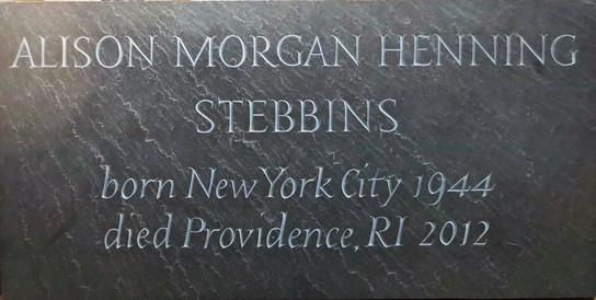 Morgan Stebbins Memorial