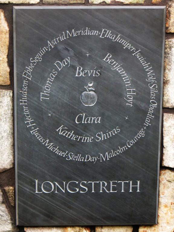 Longstreth Family Plaque
