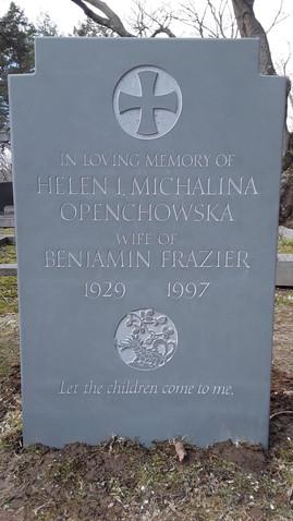 Frazier Memorial Honed bluestone