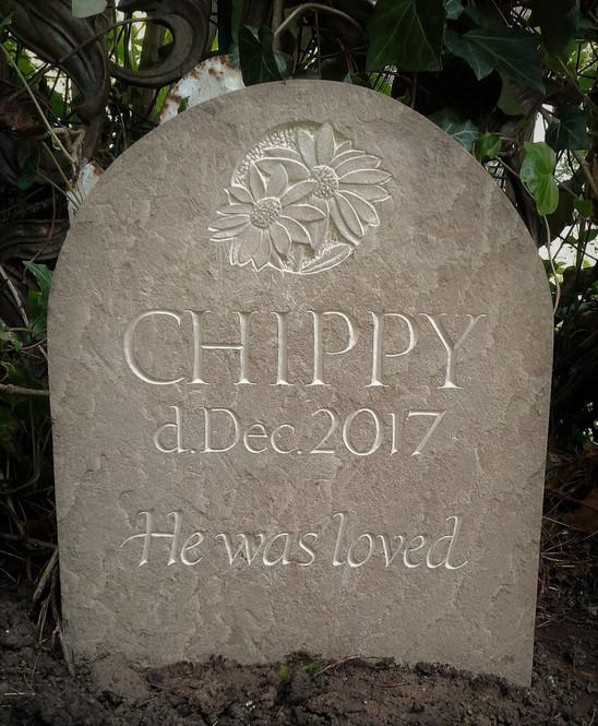 Memorial for a best friend