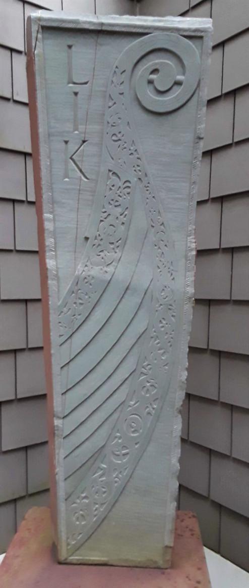 A viking ship for a viking, green slate