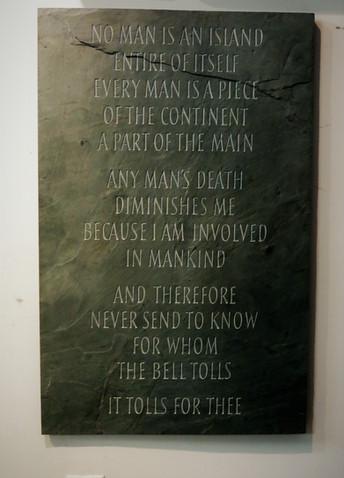 John Donne Poem, No Man Is An Island