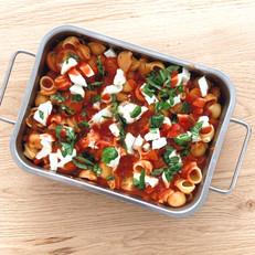 Italiaanse ovenschotel met Mozzarella