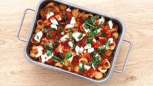 Italiaanse ovenschotel met Mozzarella (Vegetarisch)