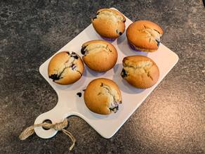 Blueberry Muffins met Yoghurt