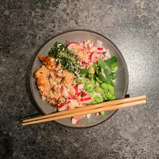Spicy Salmon Poké Bowl