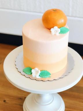 """""""Little Cutie"""" Smash Cake"""