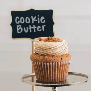 Cookie Butter Cupcake