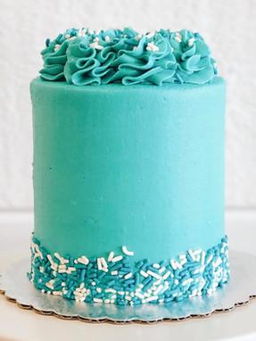 "4"" Birthday Cake"