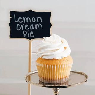 Lemon Cream Pie Cupcake