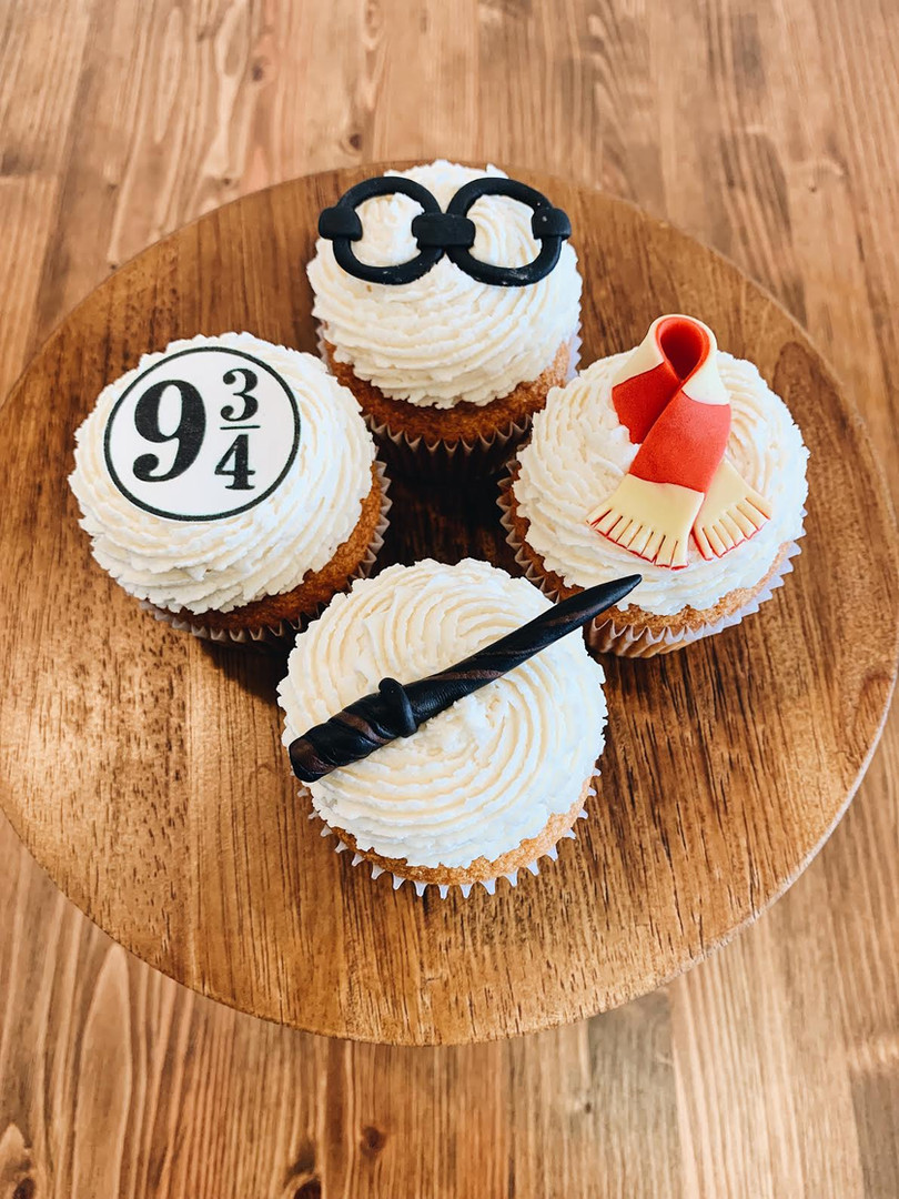 Harry Potter Cupcakes