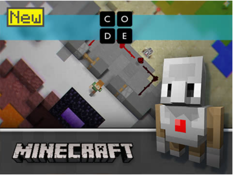 Minecraft Hour of Code Game