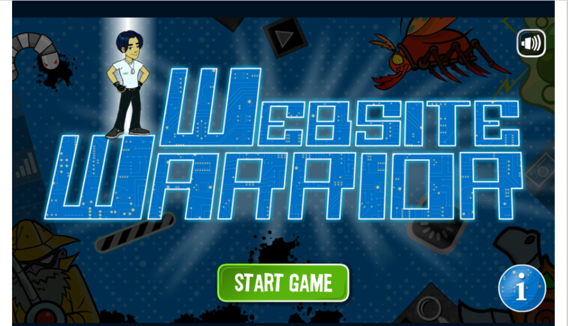 Website Warrior Game
