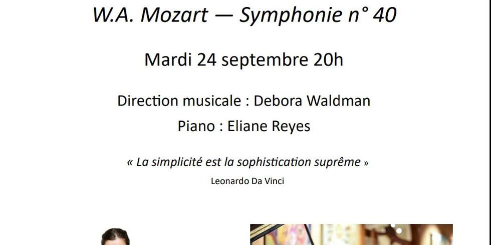 Concerto with L'orchestre Idomeneo