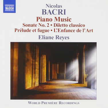 Nicolas Bacri | Piano Music