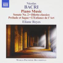 Nicolas Bacri | Piano Music