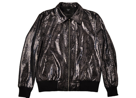 Idol Bomber Suede Jacket