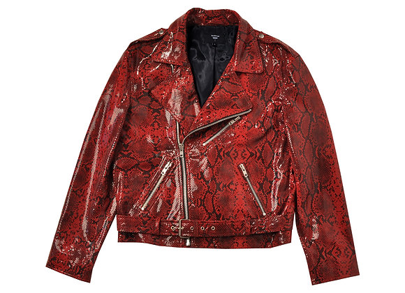 Tommy Biker Suede Jacket