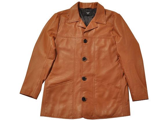 Richie Finestra Leather Coat