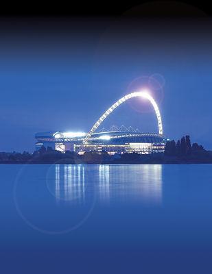 Wembley Stadium, home of UCFB Wembley (R
