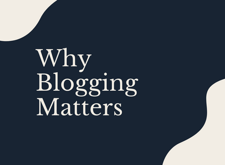 4 Reasons Why Blogging Is Important for Small Businesses