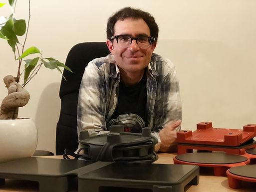 Rafi Gabbay with HotMats.jpg