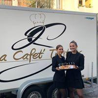 Remorque La Cafet' + personel