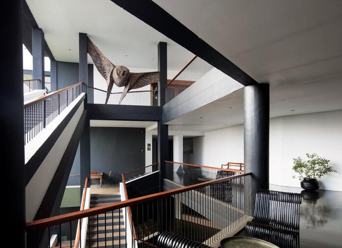Staircases by Sri-Lankan Modernist- Geoffrey Bawa