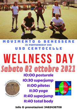 wellness day centocellefc