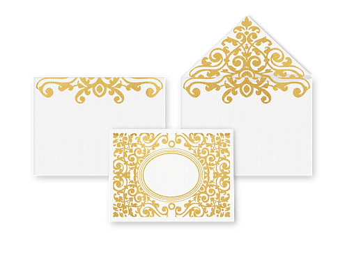 Courtyard Card with Envelope