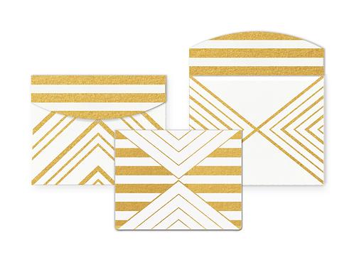 Retro Card with Envelope