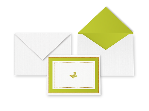 Winged (Butterfly) Card with Envelope