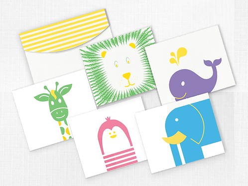 The Zoo Collection, Card with Envelope