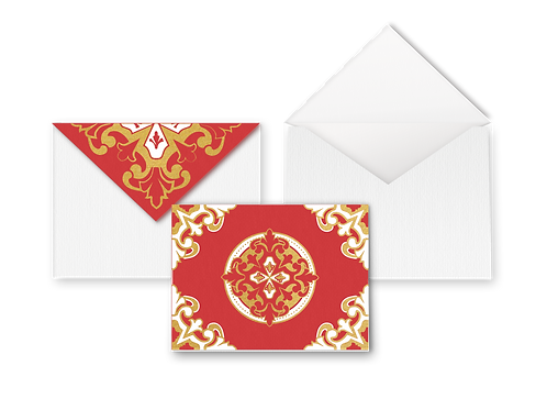 Lisboa Blank Cards with Envelope