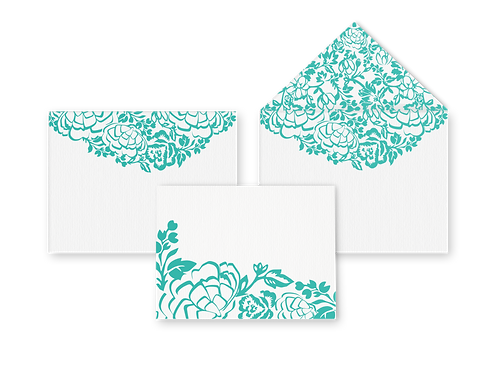 Summer Card with Envelope