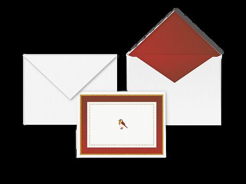 Winged (Koel) Card with Envelope