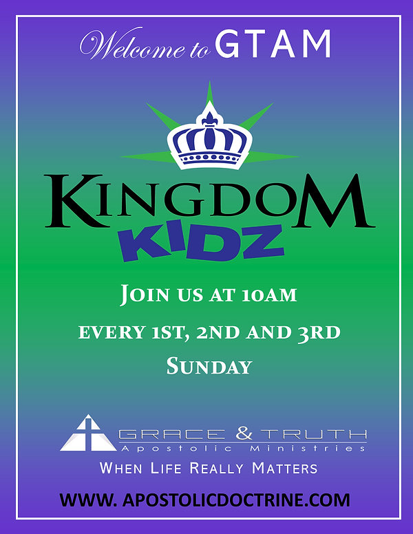 Kingdom Kids -We are Back In Person (17x22 Poster).png